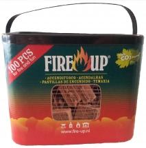Ekologický podpalovač FIRE UP 100ks